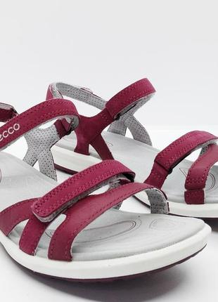 Суперские кожаные удобные сандалии ecco cruise ii оригинал