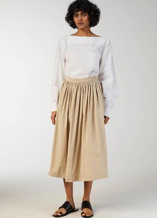 Юбка женская  arket tech taffeta skirt