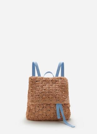 Рюкзак соломка плетеный reserved