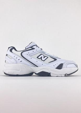 Стильные унисекс кроссовки  🔥 new balance 530 white blue.