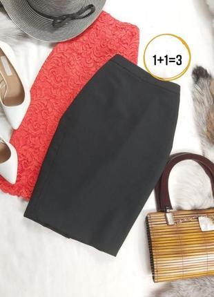 Очень красивая юбка мини классника с карманами стрейч
