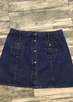 Юбка джинсовая на пуговицах ❤️❤️552