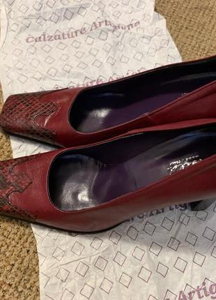 Кожаные итальянские туфли 🇮🇹