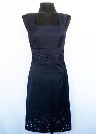 Суперцена. стильное платье, вышивка ришелье. турция. новое, р-ры 42-56