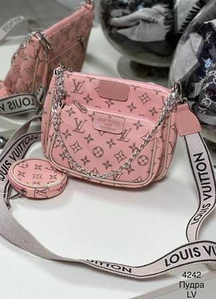 Комплект сумок 3 в 1 кросс-боди клатч