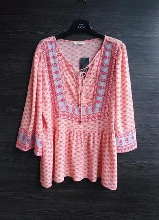 Блуза в стиле бохо george.