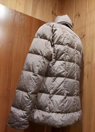 Новый шикарный пуховик куртка пуховая зима еврозима