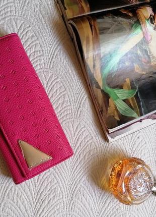 Новый кошелёк, портмане, малиновый яркий цвет ❤️