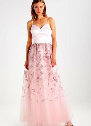 Новое красивейшее вечернее брендовое платье макси
