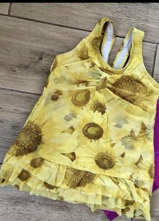 Фирменный купальник платье купальное платье