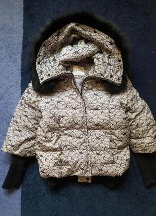 Дутая крутая тёплая зимняя курточка зимова дута тепла куртка s