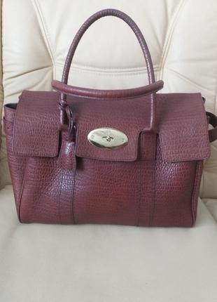 Добротна шкіряна сумка