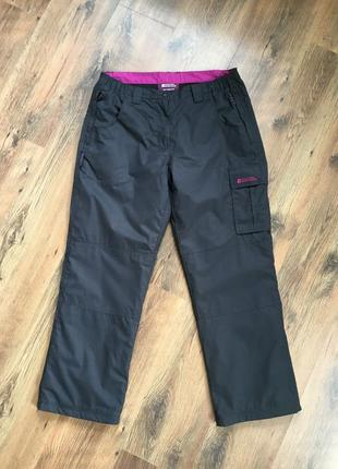Фирменные трекинговые брюки флис mountain warehouse оригинал