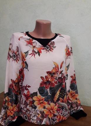 Блуза кофта лонгслив
