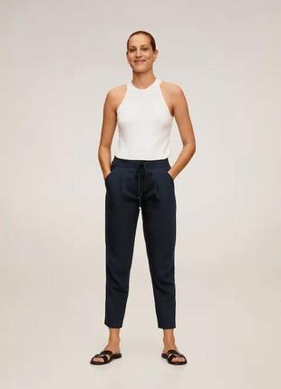 Костюмные брюки со шнурками mango - s, m, l, xl