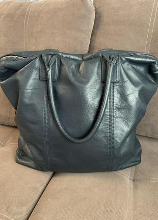 Кожаная сумка g-star raw