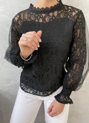 ⭐️женская блузка ажур
