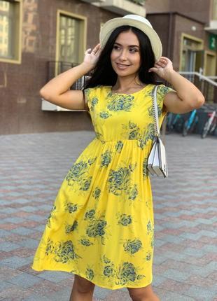 Очаровательное легкое летнее платье