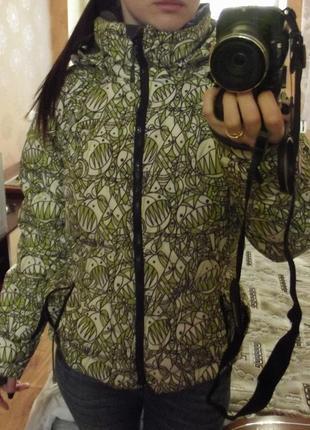 Горнолыжная куртка-пуховик