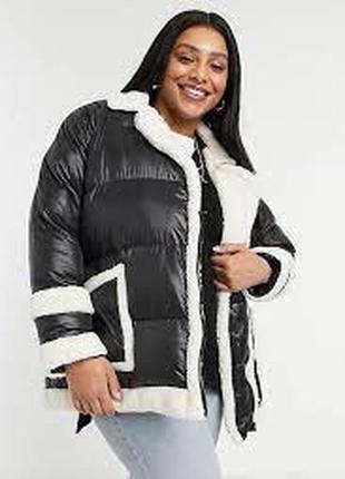 Стеганая куртка в стиле oversized threadbare curve р.56  летняя  цена