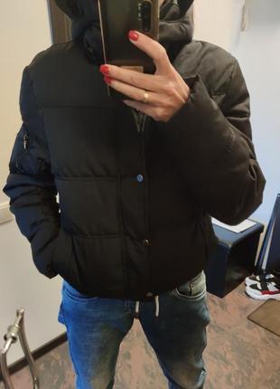 Пуховик куртка дутик zara