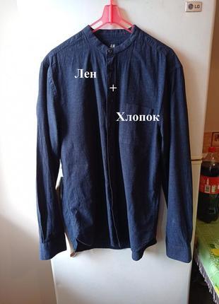 Стильная мужская рубашка от бренда «н&m», турция