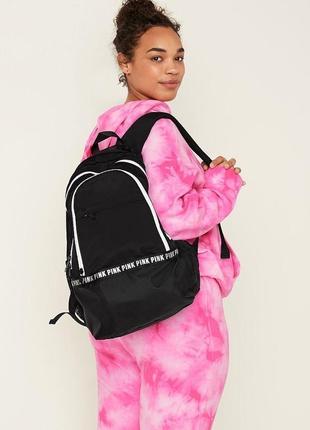 Большой вместительный рюкзак victoria's secret pink