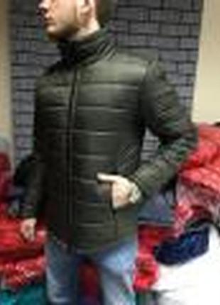 Зимняя стеганая куртка reflex, серая и хаки по акции
