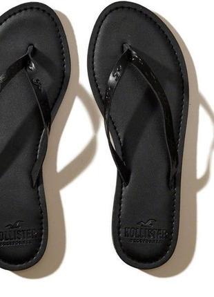 Шлепанцы с новой коллекции hollister ® leather icon flip flops