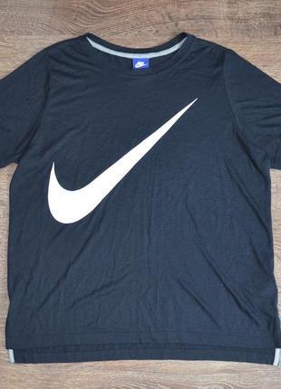Оригинальная футболка последних коллекций nike (найк)®w nsw top ss prep4 фото