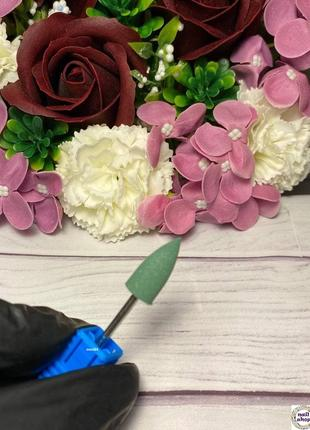 Фреза-шлифовщик силикон-карбидная конус для полировки 240 грит