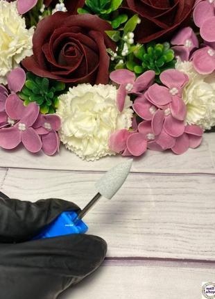 Фреза-шлифовщик силикон-карбидная конус для полировки 120 грит