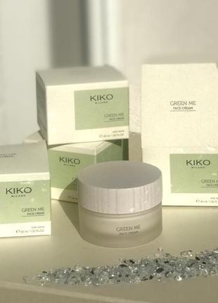 Крем для лица kiko new green me face cream