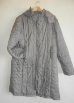 Обалденное деми пальто большой размер