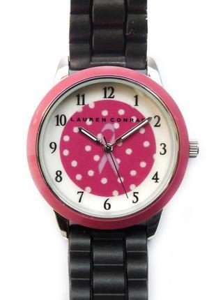 Lauren conrad часы из сша каучуковый ремешок механизм japan sii