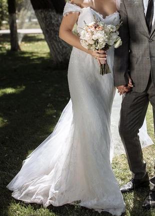 Продам свадебное платье fara sposa ,испания