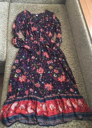 Милое цветочное платье