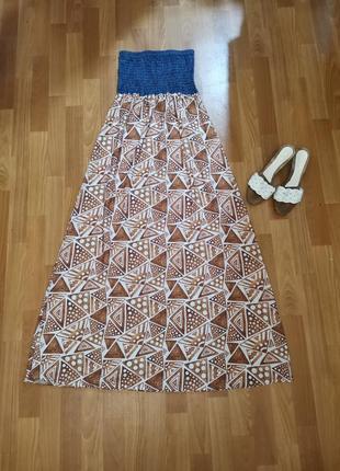 Сарафан макси, платье kesy