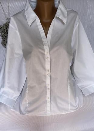 Белоснежная базовая рубашка
