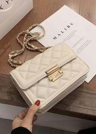 Женская сумочка через плечо, фактурная сумочка, сумка-мессенджер, повседневная сумочка, сумка кросс-боди