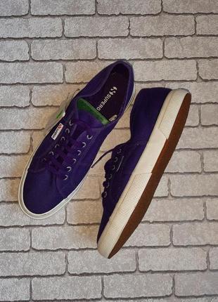 Кеды superga 2750 violet (италия)