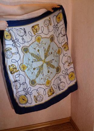 Люкс!эксклюзивный коллекционный подписной платок, rolex geneva.