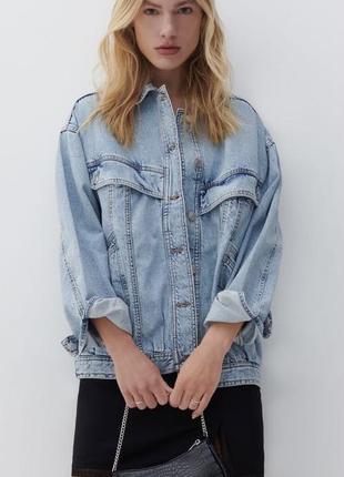 Куртка оверсайз reserved новая без бирки, размер м