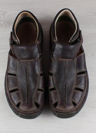 Кожаные закрытые сандали timberland оригинал, размер 42 (летние туфли, сандалии)