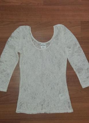 Ажурная кофточка, блузка