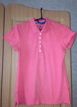 Розовая футболка-поло colin`s