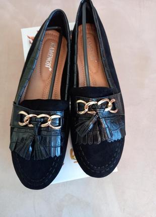 Стильные женские туфли, туфлі, лоферы