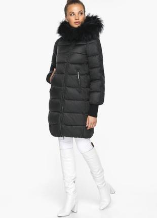 """Модный воздуховик зимний, до -22 градусов, braggart """"angel's fluff"""", германия 42150 черный"""