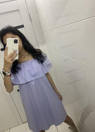 Новое платье с воланом ❤️ s/m 🛍 при покупке от двух вещей скидка 😌