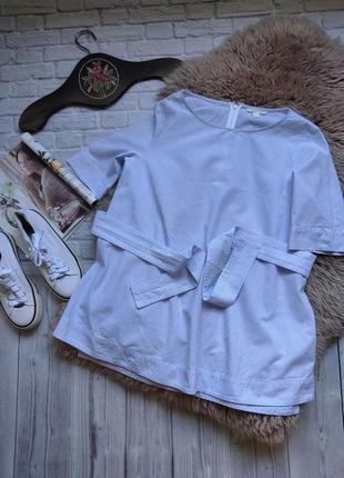 Блуза в  полоску з завязками от cos